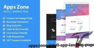AppsZone - Jekyll App Landing Page By themeix_lab