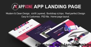Appxone App Landing Page By themexone