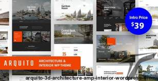 Arquito - 3D Architecture & Interior WordPress Theme By paul_tf