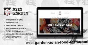 Asia Garden | Asian Food Restaurant By themerex