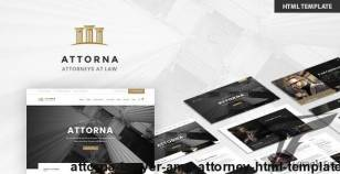 Attorna - Lawyer & Attorney HTML Template By max-themes