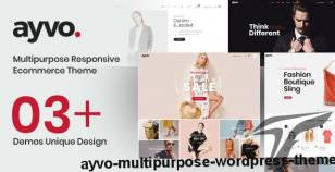 Ayvo - Multipurpose WordPress Theme By kutethemes