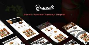 Basmoti - Restaurant Bootstrap4 Template By hastech