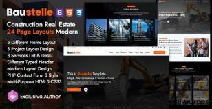 Baustelle - Construction Real Estate Multi Purpose By themeioan