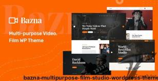 Bazna | Multipurpose Film Studio WordPress Theme By bdevs