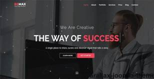 Bemax - OnePage Parallax Joomla Theme By codepedant