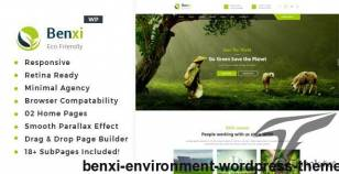 Benxi - Environment WordPress Theme By template_path