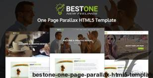 Bestone | One Page Parallax HTML5 Template By xcodesolution