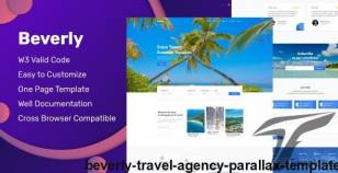 Beverly - Travel Agency Parallax Template By aamdeveloper