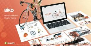 BIKO - Bicycle Store Responsive Shopify Theme Sections Ready By tvlgiao