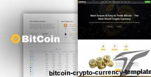 BitCoin - Crypto Currency Template By codecorns