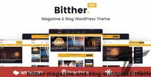 Bitther - Magazine and Blog WordPress Theme By idoodle
