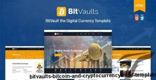 Bitvaults | Bitcoin and Cryptocurrency HTML Template By tripples