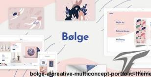 Bolge - A Creative Multi-concept Portfolio Theme By elated-themes