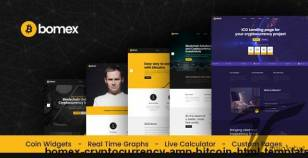 Bomex - Cryptocurrency & Bitcoin HTML Template By layerdrops