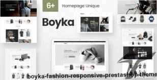 Boyka - Fashion Responsive PrestaShop Theme By plaza-themes