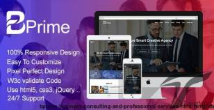 Bprime - Business Consulting and Professional Services HTML Template By envatoprime