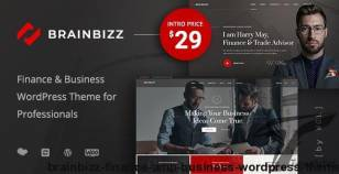 BrainBizz - Finance & Business WordPress Theme By webgeniuslab