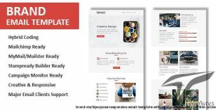 Brand - Multipurpose Responsive Email Template with Online StampReady Builder Access By pennyblack