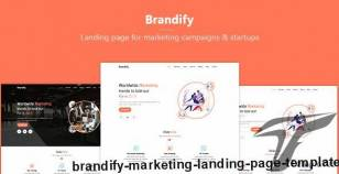 Brandify - Marketing Landing Page Template By gaintco