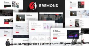 Bremond - Multipurpose Business Consulting WordPress Theme By template_path