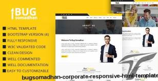 BugSomadhan - Corporate Responsive Html Template By themescart