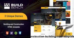 Buildbench - Construction, Building HTML Template By themefunction