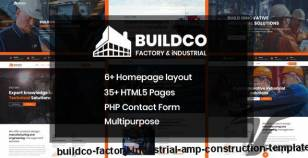 Buildco - Factory, Industrial & Construction Template By validthemes