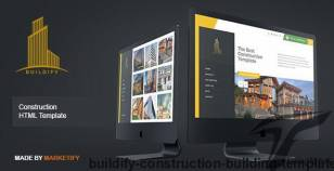 Buildify - Construction Building Template By marketify