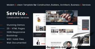 Buildup – Construction Business Services HTML Template By themeplan