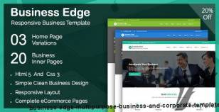 Business Edge - Multipurpose Business and Corporate Template By precious-themes