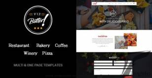 Butter - Professional Restaurant, Bakery, Coffee, Winery and Pizza WordPress Theme By fluent-themes