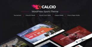 Calcio - Football & Soccer Management WordPress Theme By themeum