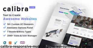 Calibra - Responsive Multi-Purpose WordPress Theme By dynamicpress