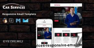 Car Services - Responsive Email Template By evethemes