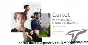 Cartel - Multipurpose beauty shop template By invisiothemes