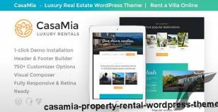 CasaMia | Property Rental WordPress Theme By ancorathemes