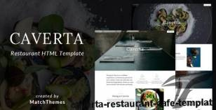 Caverta - Restaurant Cafe Template By matchthemes