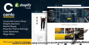 Cento | Corporate & Luxury Products Responsive Shopify Theme By cmssuperheroes