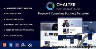 Chalter - Consulting Finance Business Template By themexriver