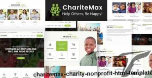 ChariteMax - Charity NonProfit HTML Template By template_path