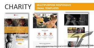 Charity - Multipurpose Responsive Email Template With Online StampReady Builder Access By fourdinos