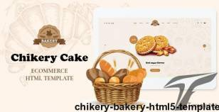 Chikery - Bakery HTML5 Template By nouthemes