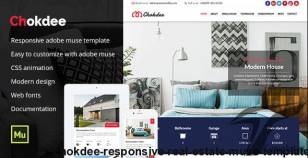 Chokdee - Responsive Real Estate Muse Template