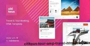Cititous - Tour & Travel HTML Template By haintheme