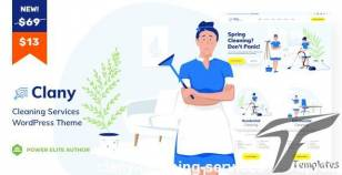 Clany - Cleaning Services WordPress By vamtam