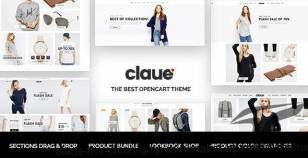 Claue - The Clean & Minimalist OpenCart Theme By magentech