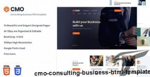 CMO -  Consulting Business HTML Template By andit_themes