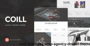 Coill | Business & Agency Drupal Theme By nunforest