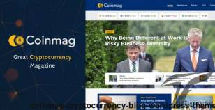 Coinmag - CryptoCurrency Blog WordPress Theme By 2035themes